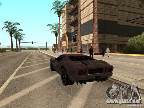 Ford GT para GTA San Andreas left