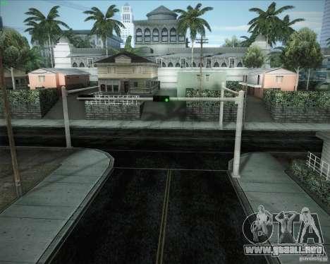 Nuevos caminos alrededor de San Andreas para GTA San Andreas quinta pantalla