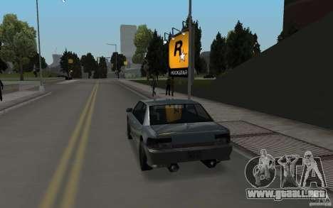 ENBSeries v1 for SA:MP para GTA San Andreas quinta pantalla