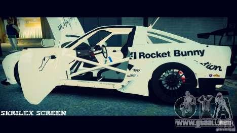 Nissan 380sx BenSpora para GTA 4 vista superior