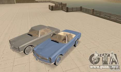 Mercedes-Benz 280SL (brillante) para vista lateral GTA San Andreas