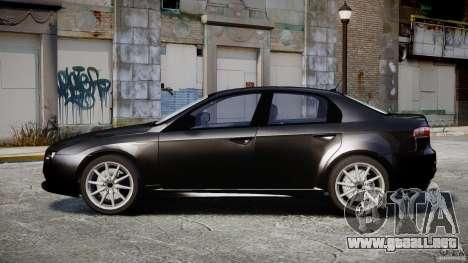 Alfa Romeo 159 Li v2 para GTA 4 vista hacia atrás