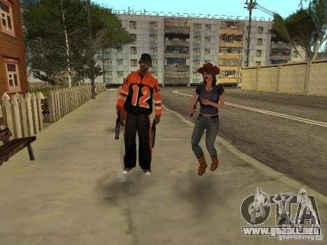 Cualquier grupo de player 3.0 para GTA San Andreas