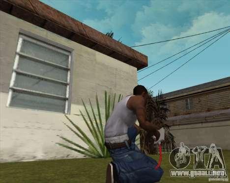 Desfibrilador para GTA San Andreas segunda pantalla