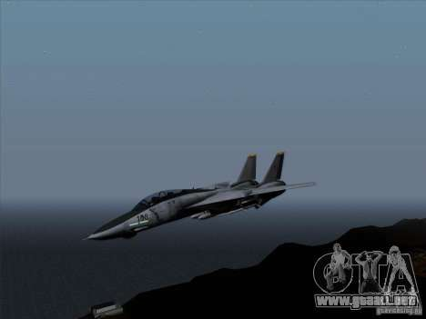 F-14 Tomcat Warwolf para GTA San Andreas left