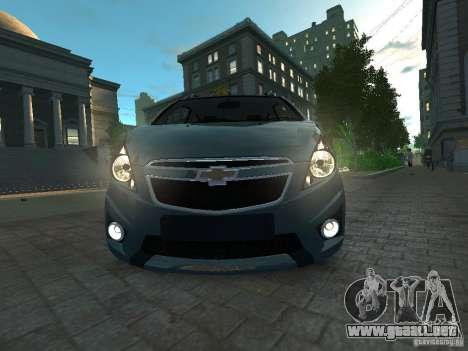 Chevrolet Spark para GTA 4 visión correcta