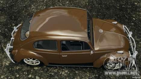 Volkswagen Fusca Gran Luxo v2.0 para GTA 4 visión correcta