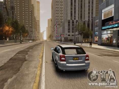 Dodge Caliber para GTA 4 ruedas