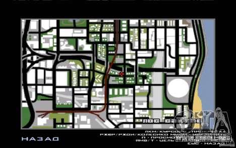 New Bar para GTA San Andreas octavo de pantalla