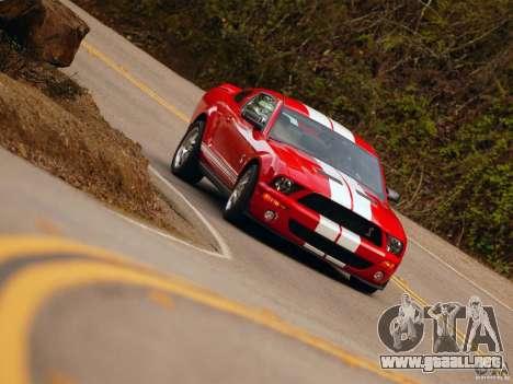 Pantallas de carga en el estilo del Ford Mustang para GTA San Andreas sexta pantalla