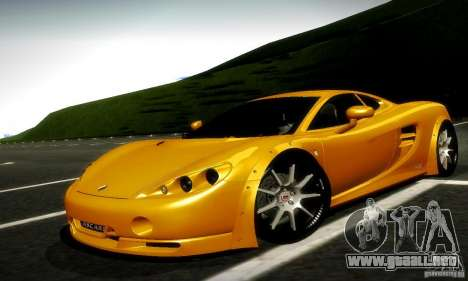 Ascari KZ1R Limited Edition para GTA San Andreas left