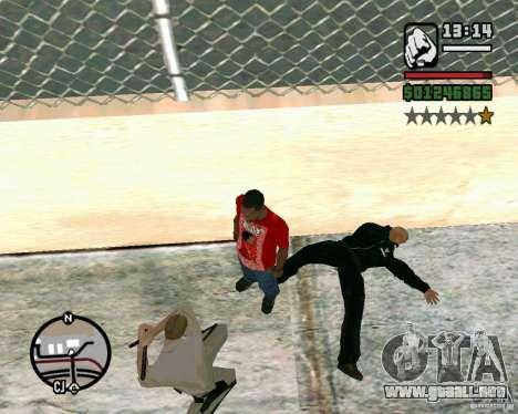 Dwayne The Rock Johnson para GTA San Andreas tercera pantalla