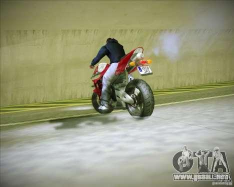 Honda CBR600RR 2005 para GTA San Andreas vista hacia atrás
