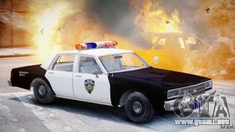 Chevrolet Impala Police 1983 [Final] para GTA 4