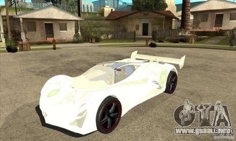 Mazda Furai para GTA San Andreas