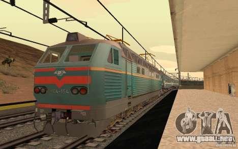 FERROCARRIL mod II para GTA San Andreas quinta pantalla