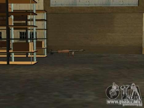 Renovación de la base militar en el puerto para GTA San Andreas quinta pantalla