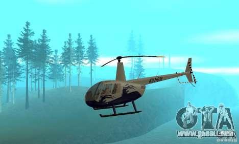 Robinson R44 Raven II NC 1.0 piel 4 para GTA San Andreas