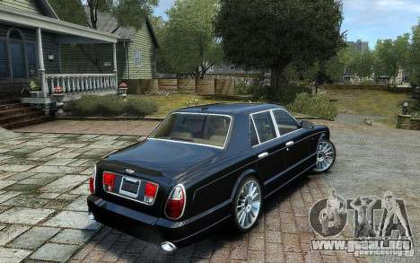 Bentley Arnage T para GTA 4 left