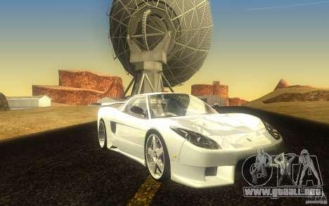 Honda NSX VeilSide Fortune para GTA San Andreas left