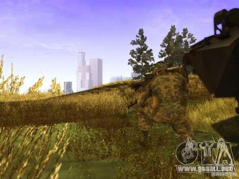 Piel de un soldado ruso para GTA San Andreas segunda pantalla