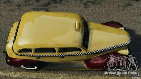 Shubert Taxi para GTA 4 visión correcta