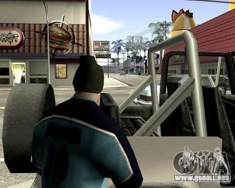 Cubierta del sistema para GTA San Andreas twelth pantalla
