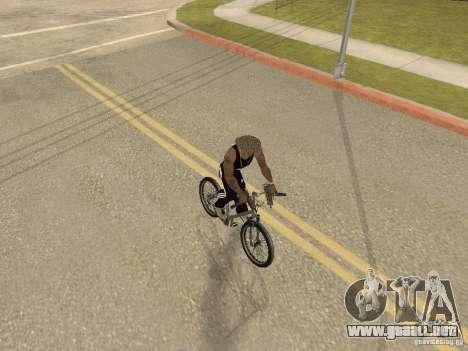 Ocultar-conseguir armas en el coche para GTA San Andreas tercera pantalla