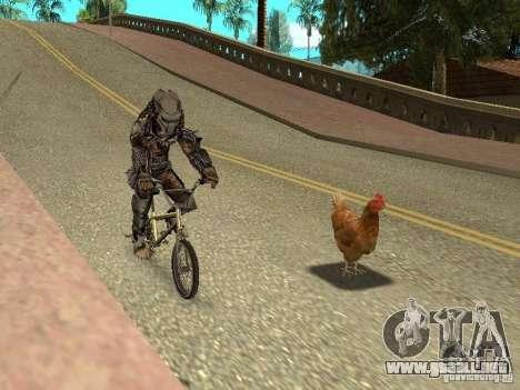 Patrulla de pollo para GTA San Andreas tercera pantalla