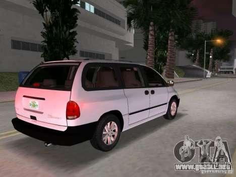 Dodge Grand Caravan para GTA Vice City vista lateral izquierdo