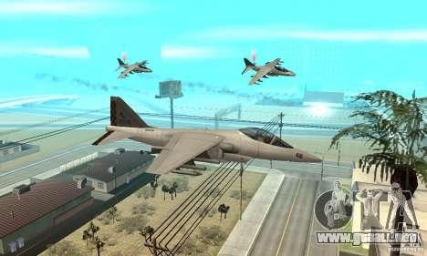 Guerra del aire para GTA San Andreas segunda pantalla