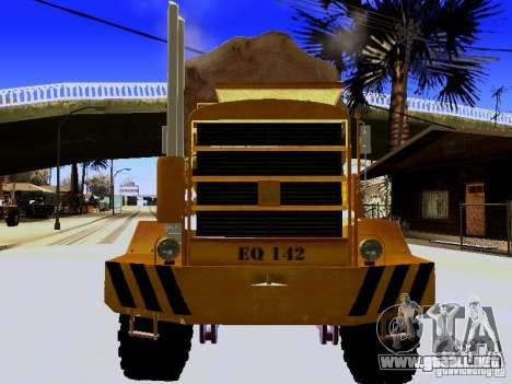 Hayes EQ 142 para visión interna GTA San Andreas