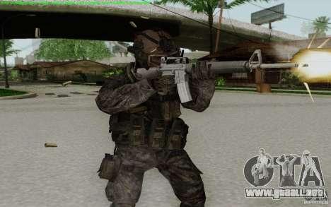 M16A2 para GTA San Andreas sucesivamente de pantalla