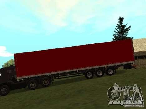 NEFAZ 93344 rojo para GTA San Andreas left