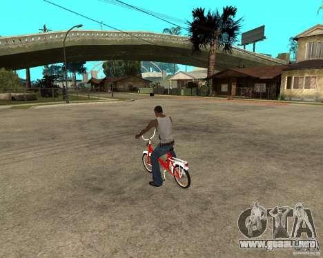 Tair GTA SA de la bici para GTA San Andreas left