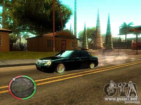 Lada Priora Dag Style para las ruedas de GTA San Andreas