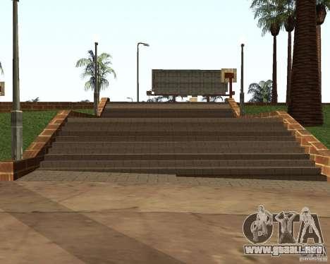 Textura de la cancha de baloncesto para GTA San Andreas sucesivamente de pantalla