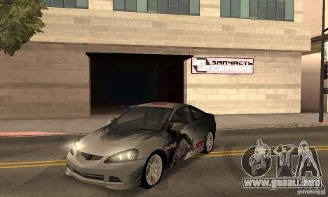 Acura RSX New para la vista superior GTA San Andreas