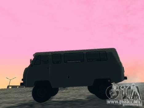 2206 UAZ para la visión correcta GTA San Andreas