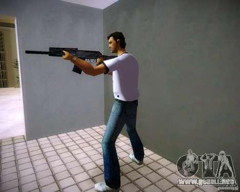 Saiga 12 k para GTA Vice City sucesivamente de pantalla