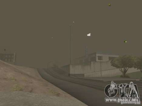Weather manager para GTA San Andreas novena de pantalla