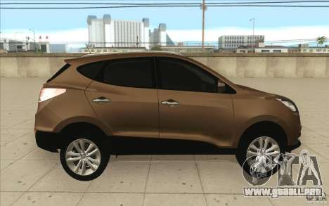 Hyundai ix35 para la vista superior GTA San Andreas