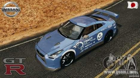 Nissan GT-R 35 rEACT v1.0 para GTA 4 interior