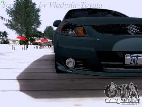 Suzuki SX4 Sportback 2011 para visión interna GTA San Andreas