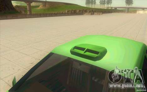 Mad Drivers New Tuning Parts para GTA San Andreas quinta pantalla