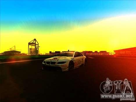 BMW M3 GT ALMS GT2 Series para visión interna GTA San Andreas