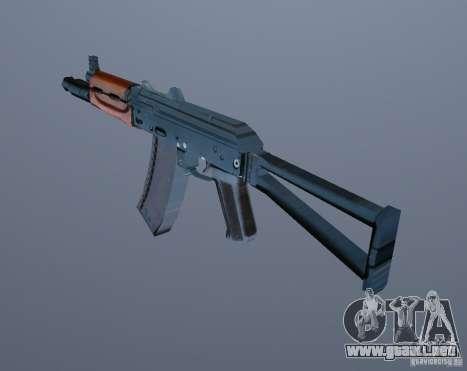AK-74y para GTA Vice City tercera pantalla