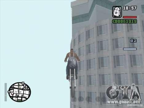 Detener el tiempo para GTA San Andreas segunda pantalla