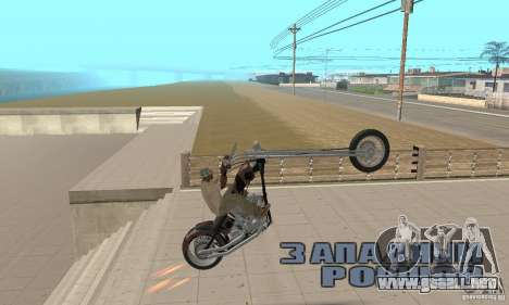 Desperado Chopper para la visión correcta GTA San Andreas