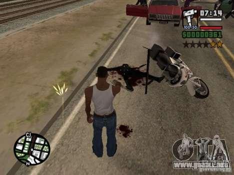 Nuevo patrón de sangre para GTA San Andreas tercera pantalla